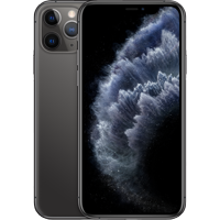 Simple Mobile Apple iPhone 11 Pro Prepaid with 64G, Space Gray