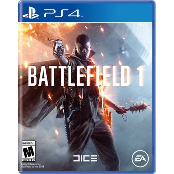 Battlefield 1, Electronic Arts, PlayStation 4, 014633733891