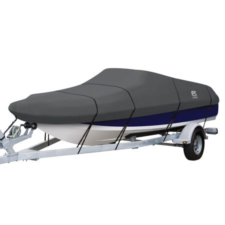 Ski Deck Boat - Classic Accessories StormPro Deck Boat Cover, Fits Boats 16' - 18.5' L x 98