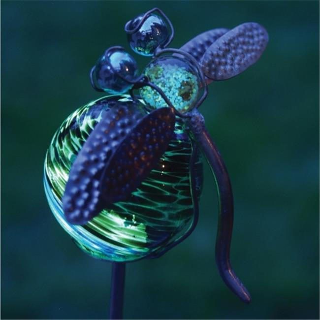 RSR Industries RSR4204 Echo Valley Illuminarie Dragonfly Stake 36 in. tall with 4 in. Globe