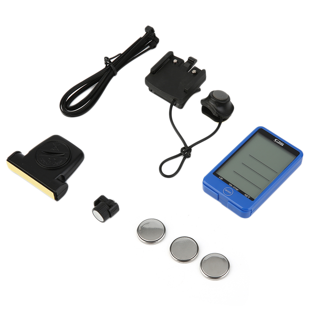 29 Functions Water-resistant Sunding Wireless Cycling Bike Bicycle Computer Speedometer Odometer Stopwatch