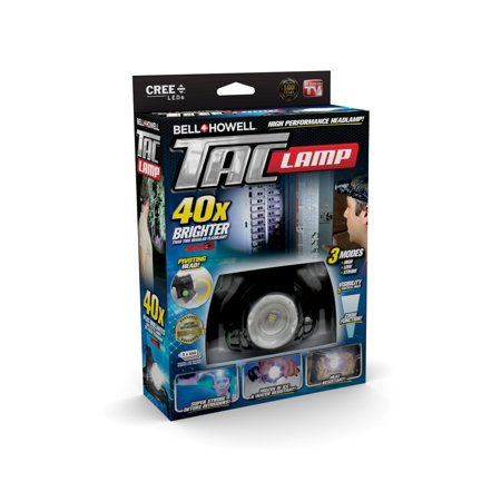 - Taclight Headlamp, Hands-Free Flashlight As Seen On TV (40x Brighter)