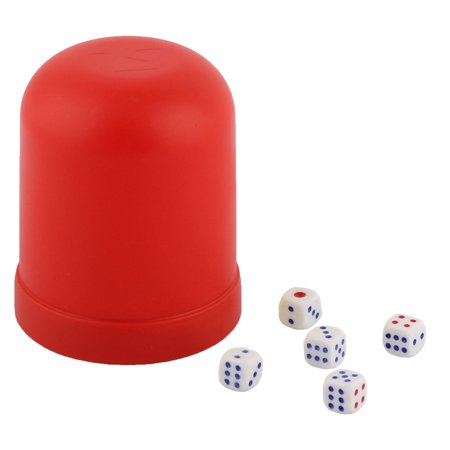 Restaurant Club Casino Guessing Gaming Gambling Shaker Case Bet Stake Dice Cup