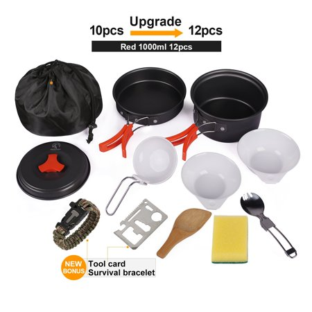 ed917480f97 REDCAMP Camping Cookware Kit