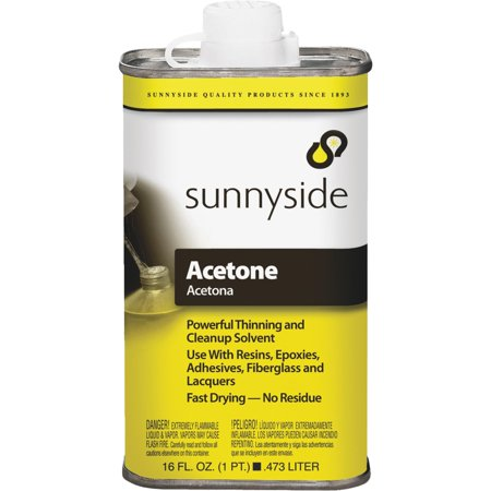 Sunnyside Corp. Pint Acetone 84016