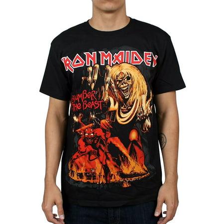IRON MAIDEN 666 Number of The Beast Eddie T-Shirt (Iron Maiden Best Band Ever)