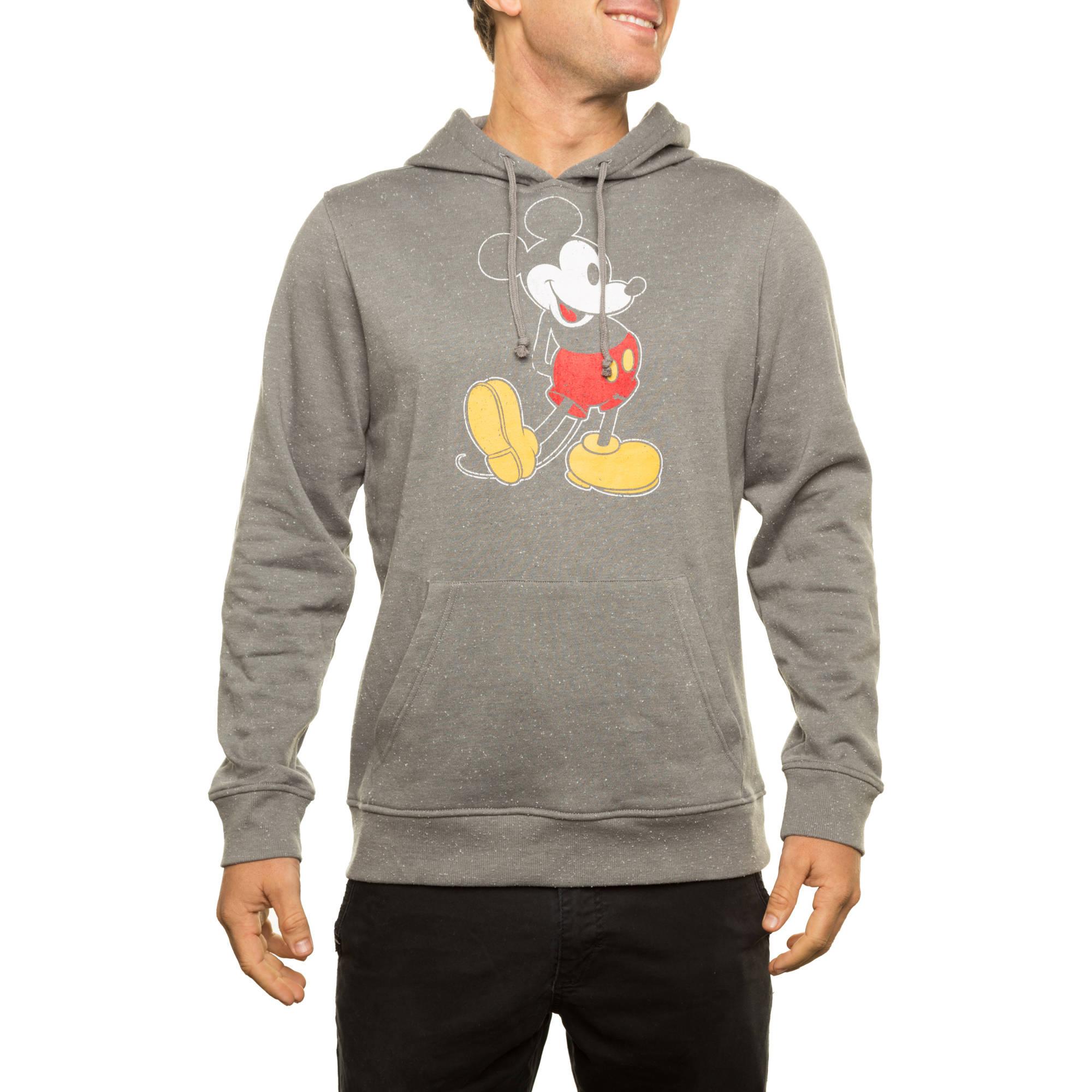 Disney Men's Licensed Speckled Fleece Pullover Hoodie