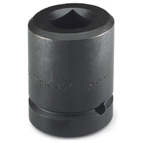 "S K Hand Tools 85783 1"" Drive 6 Point Deep Budd Wheel Socket 33mm"