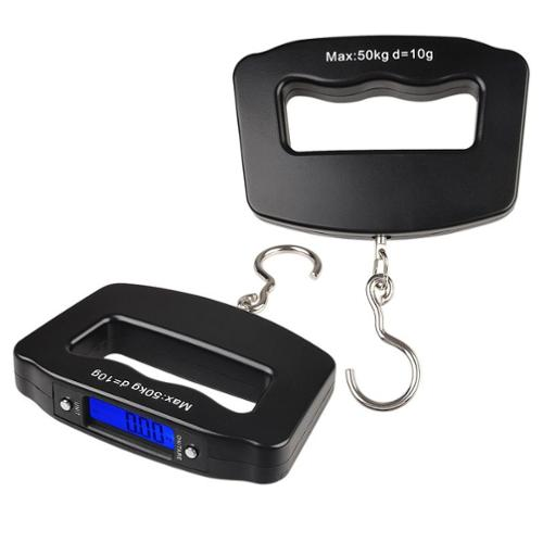 Insten 10g - 50kg Digital Hanging Grip Scale for Luggage Fishing Weight Portable with LCD Display