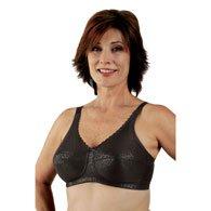 Classique 772E Post Mastectomy Fashion Bra-Black-38AA (Bras 38aa)