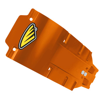 Cycra Full Armor Skid Plate Orange for Husqvarna FC 250 2016-2018