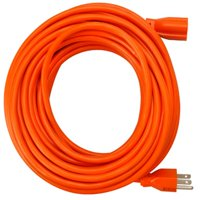 02307ME 25 ft. Orange Round Vinyl Extension Cord