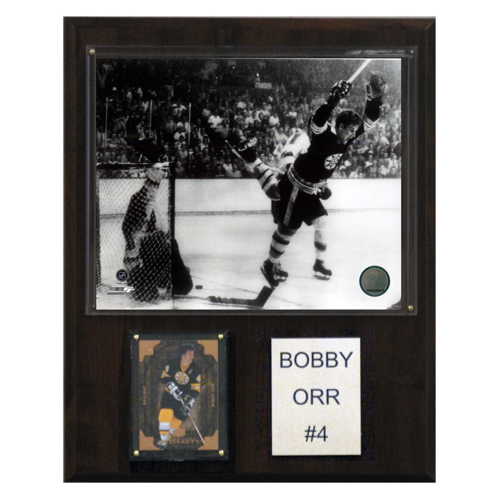 C&I Collectables NHL 12x15 Bobby Orr Boston Bruins Player Plaque