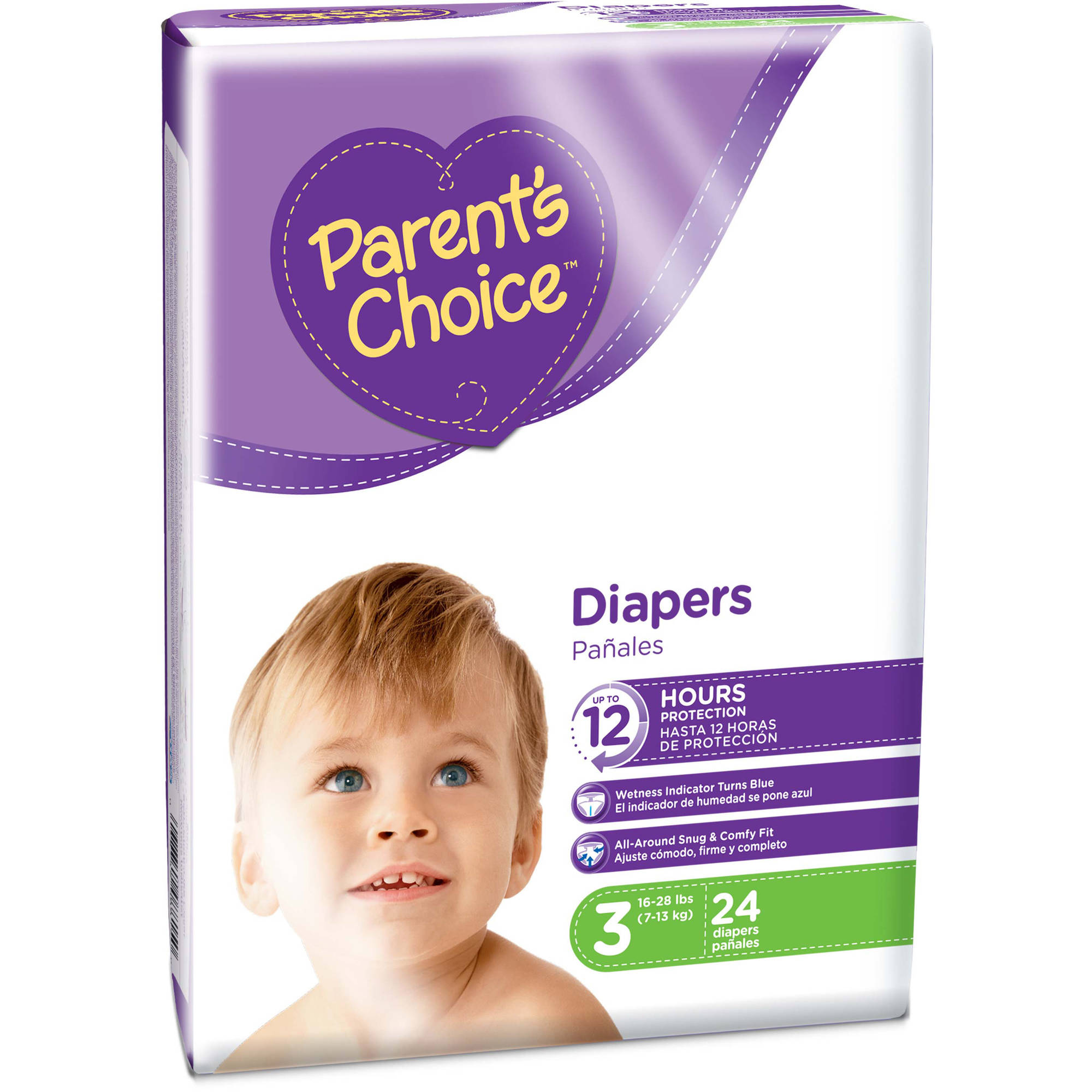 Parent's Choice Baby Diapers (Choose Your Size)