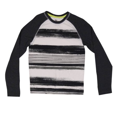 Epic Threads Boys' Brushstroke Raglan Knit Tee (M, Bright (Brushstroke Tank)