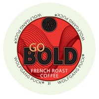 Wolfgang Puck Go Bold, RealCup portion pack for Keurig K-Cup Brewers, 24 Count