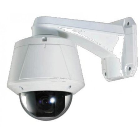 Eyemax HD-TVI In/Outdoor High Speed PTZ CCTV Security Camera X10 Optical X12 Digital Zoom ICR, Heat and Blower, Dual Power (Mount Not Included)