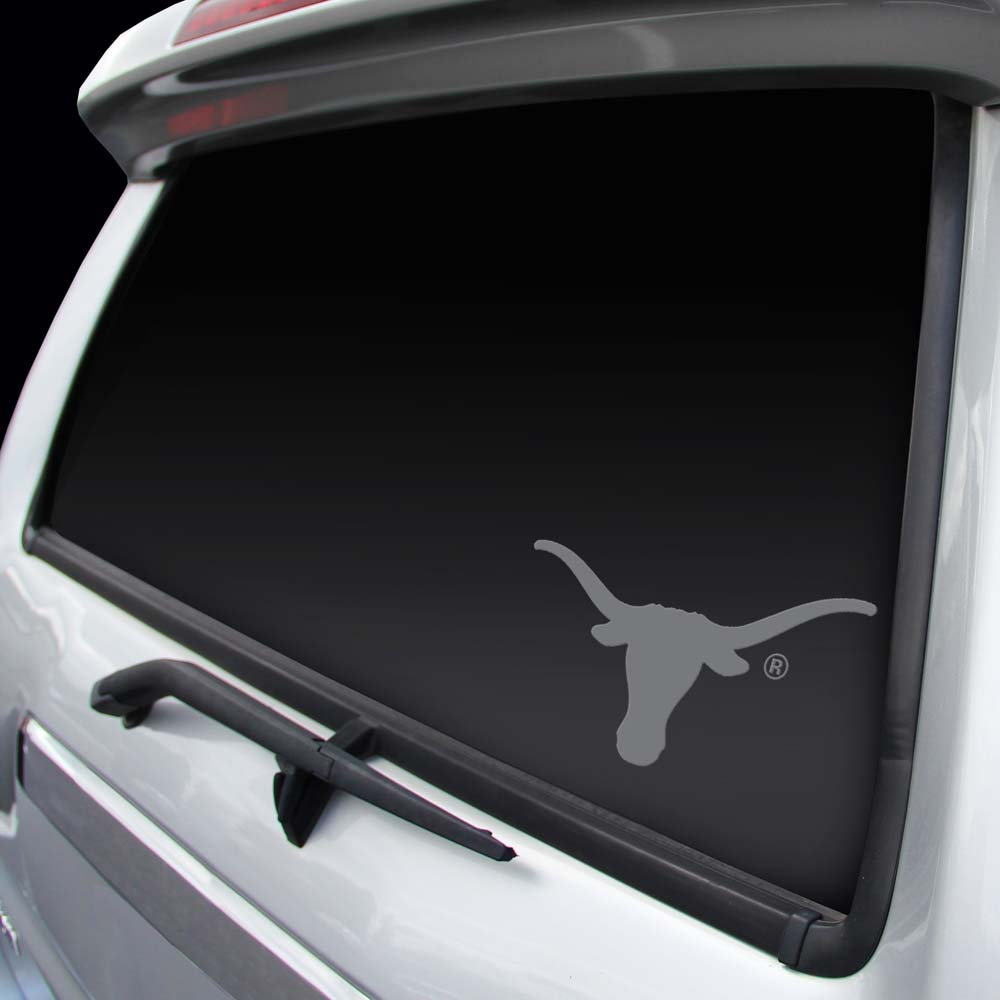Texas Longhorns Chrome Window Graphic Decal