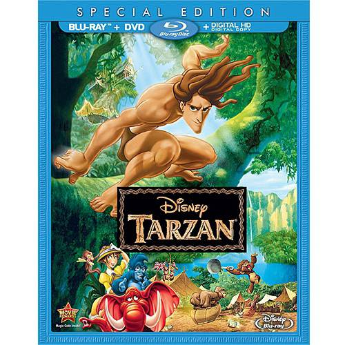 TARZAN-SPECIAL EDITION (BLU-RAY/DVD/DHD/2 DISC)