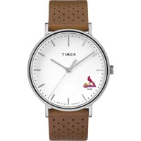 St. Louis Cardinals Timex Bright Whites Tribute Collection Watch - No Size