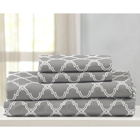 Jasmine Collection Double Brushed Microfiber Sheet Set By Home Fashion Designs