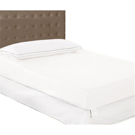 textrade ttmfm0602 6 in queen thick memory foam mattress in a box white ivory. Black Bedroom Furniture Sets. Home Design Ideas