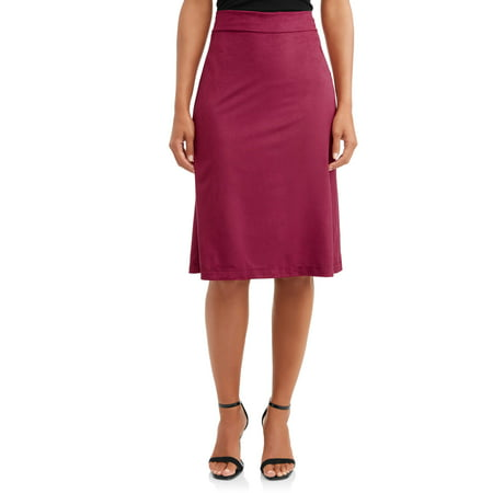 Cashmere Womens Skirt (Women's Faux Suede Skirt )