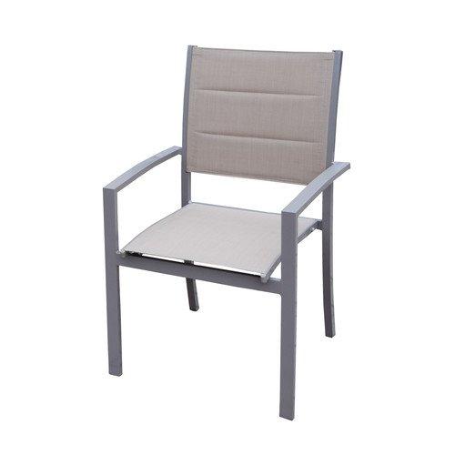 Oakland Living Padded Sling Stacking Patio Dining Chair Walmart Com Walmart Com