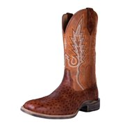Noble Outfitters Western Boots Mens All Around Rustic Cognac 65024