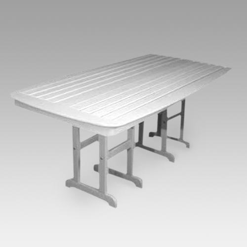 POLYWOOD® Nautical Recycled Plastic Outdoor Dining Table