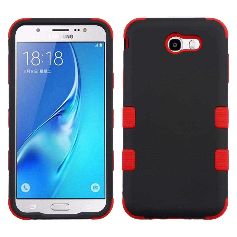 Phone Case For Galaxy J7 Sky Pro, Samsung Galaxy J7 Perx case, by Insten TUFF Shockproof Hybrid Case For Samsung Galaxy J7 (2017) / J7 Perx / J7 Sky Pro / J7 V J7V