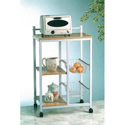 World Imports Furnishings Microwave Cart