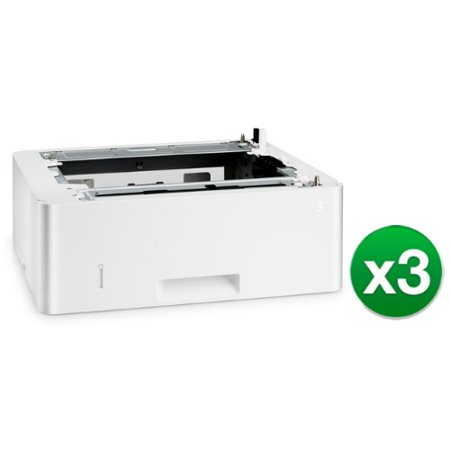 Hp Media Tray   Feeder  550 Sheets D9p29a  3 Pack  Large Format Printer Accessory