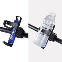 Bottle Holder Bicycle Water Bottle Cage Rack 360 Degree Rotating Baby Bottle Holder for Stroller MTB Bike, Black