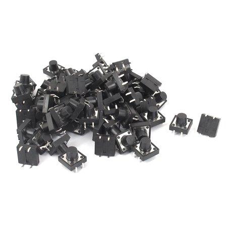 A15112300ux1385 4P momentané Pushbutton Tact tactile Micro commutateurs, 12 mm x 12 mm x 9 mm - image 1 de 1
