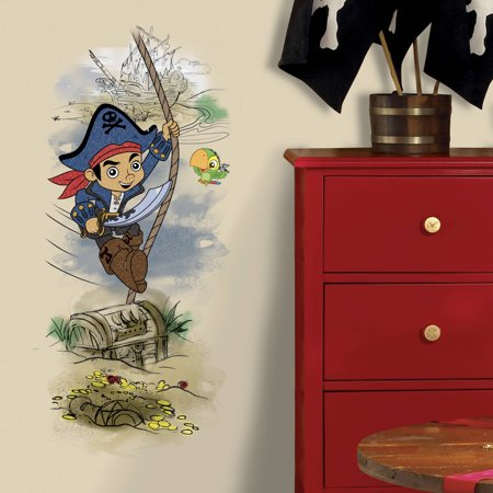 Captain Jake & the Never Land Pirates Treasure Peel and Stick Giant Wall Graphic