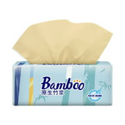 4-Layer Multi-Fold Paper Towels Facial Tissue 300 Per Pack Thicken Paper Towel Soft & Strong Pocket Design