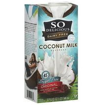 Non-Dairy Milks: So Delicious Sugar Free