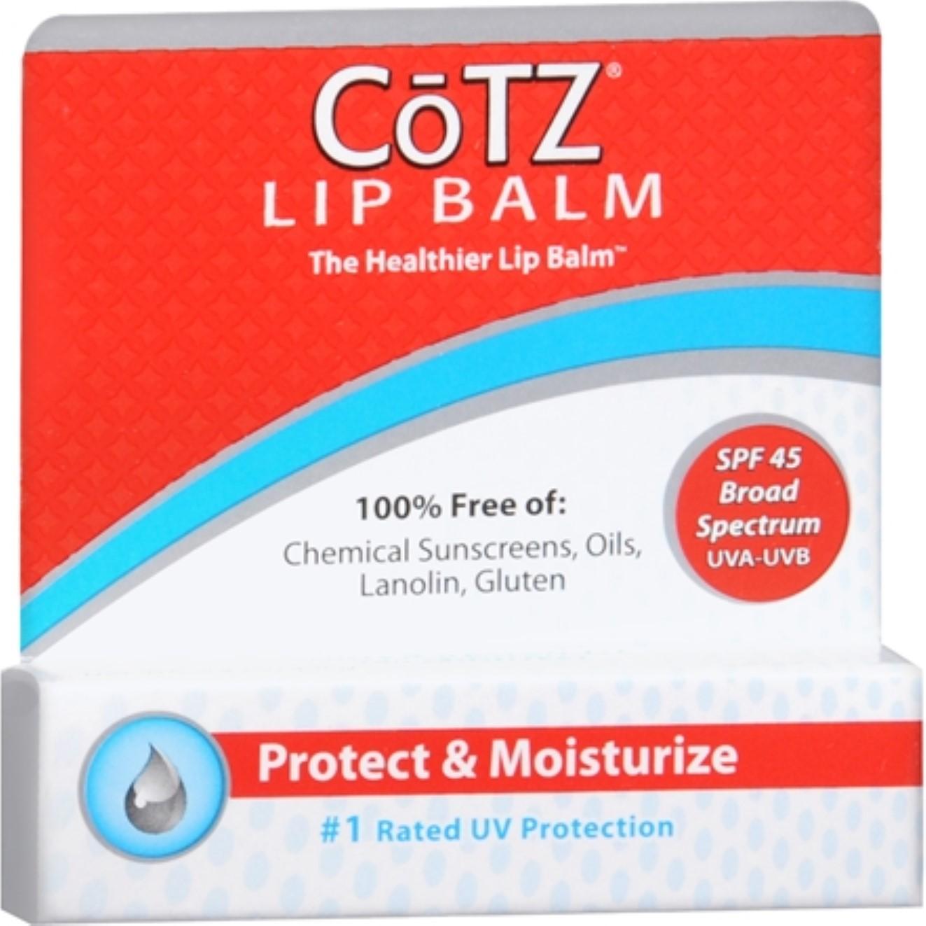 LipCotz Ultra High Sun Protection SPF 45 0.14 oz