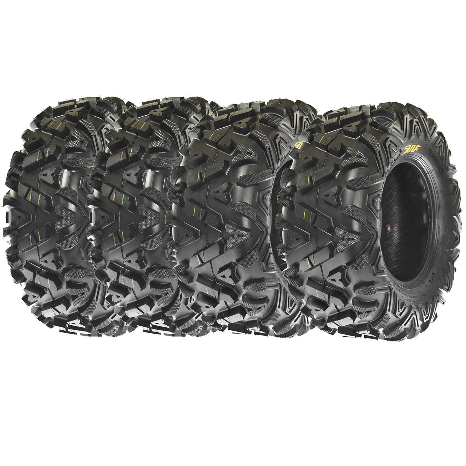 SunF All Terrain ATV UTV Tires 24x8-12 & 24x10-11 6 PR A0...