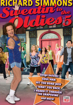 Richard Simmons: Sweatin' To The Oldies Volume 5 Love Yourself & Win (DVD) by Time Life