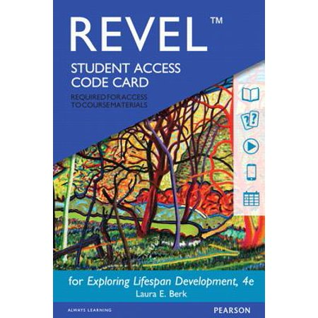 Exploring Lifespan Development Revel Access Code (College Keyboarding Access Code)