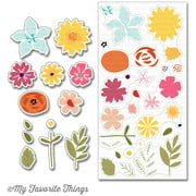 My Favorite Things Clearly Sentimental Stamps 8 Inch X 3.25 Inch S