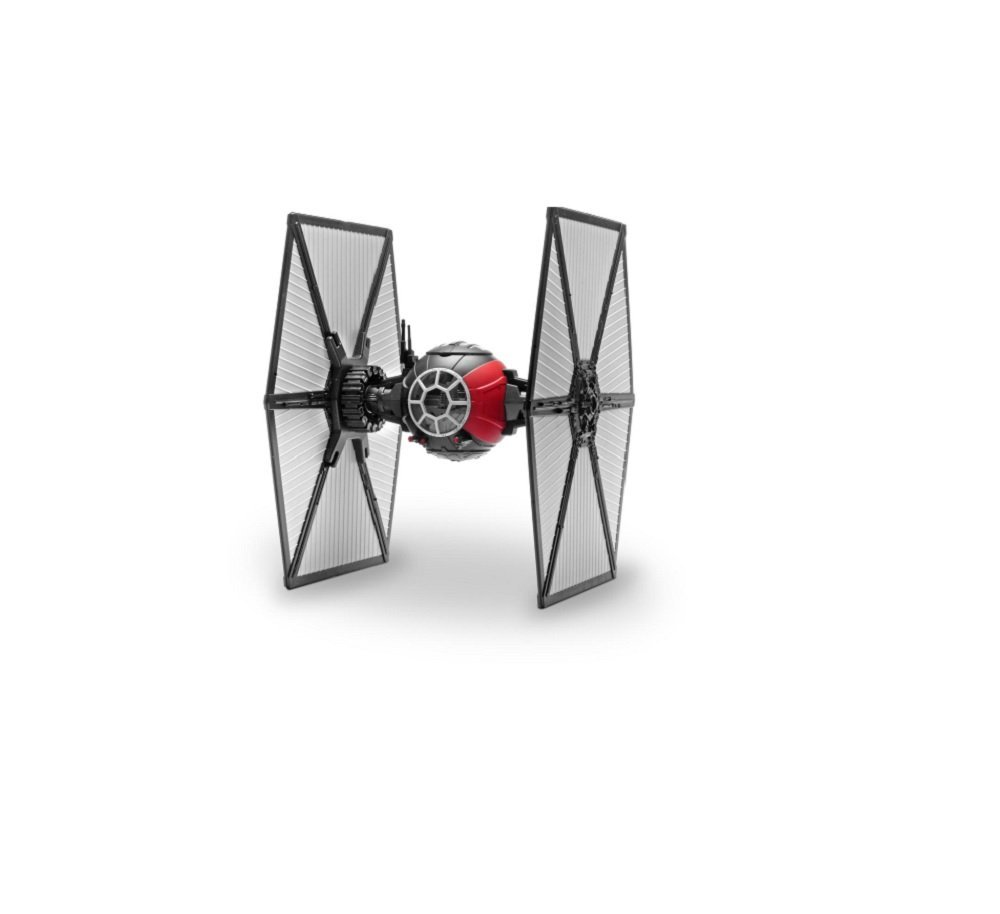 Episode VII First Order Special Forces TIE Fighter Building Kit, Building Pilot Wars XWing... by