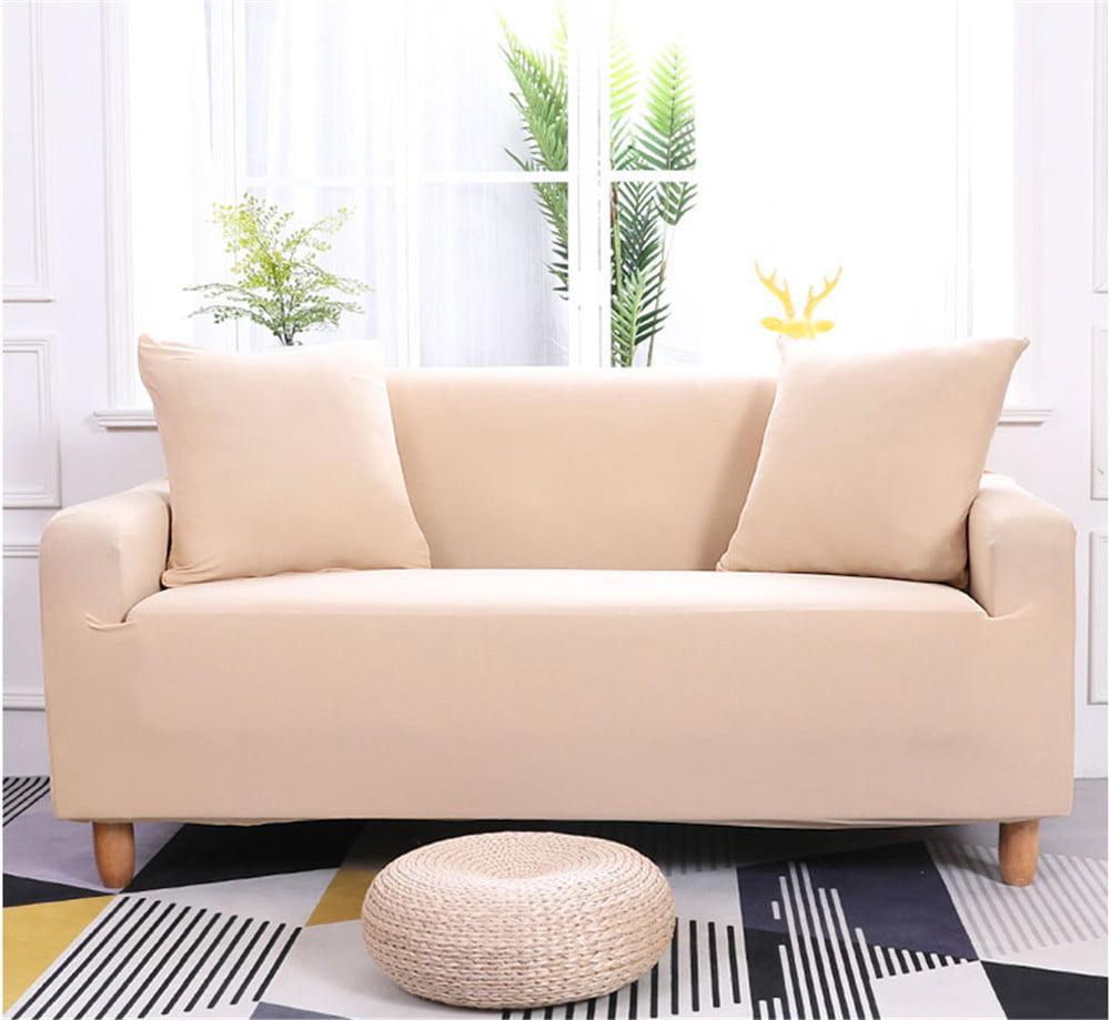 Tbest 3 Seater Sofa Cover Household Stretch Elastic Sofa