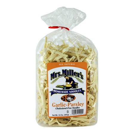 Mrs. Miller's Garlic Parsley Noodles 14 oz. (2