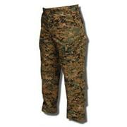 TRU Trousers Woodland Digital 65/35 Poly, Cotton Rip-Stop, 2XLarge Long