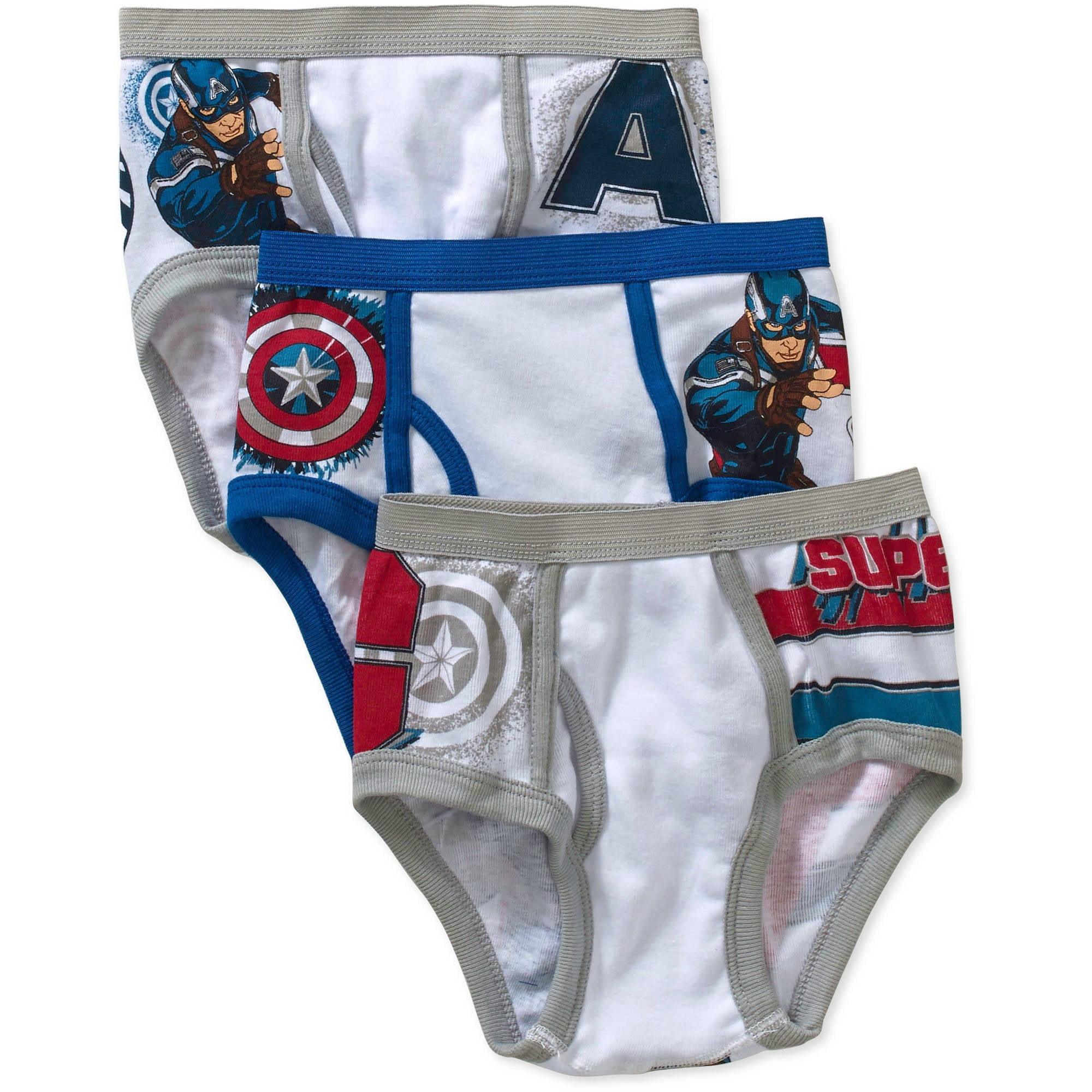 captain marvel underwear