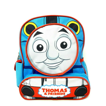 "Small Backpack - Thomas the Train Engine - 3D Face 12"" New 001380"