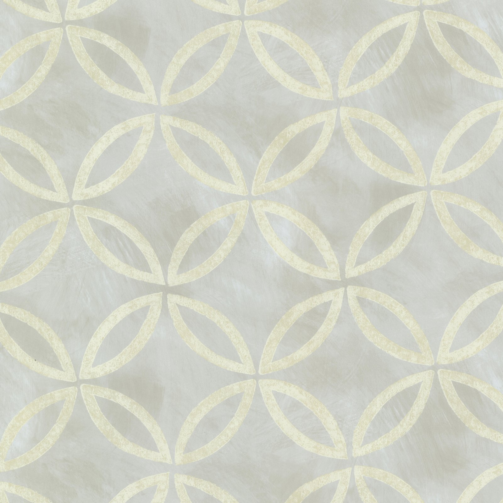 Warner Studios Cloverleaf Geometric Wallpaper
